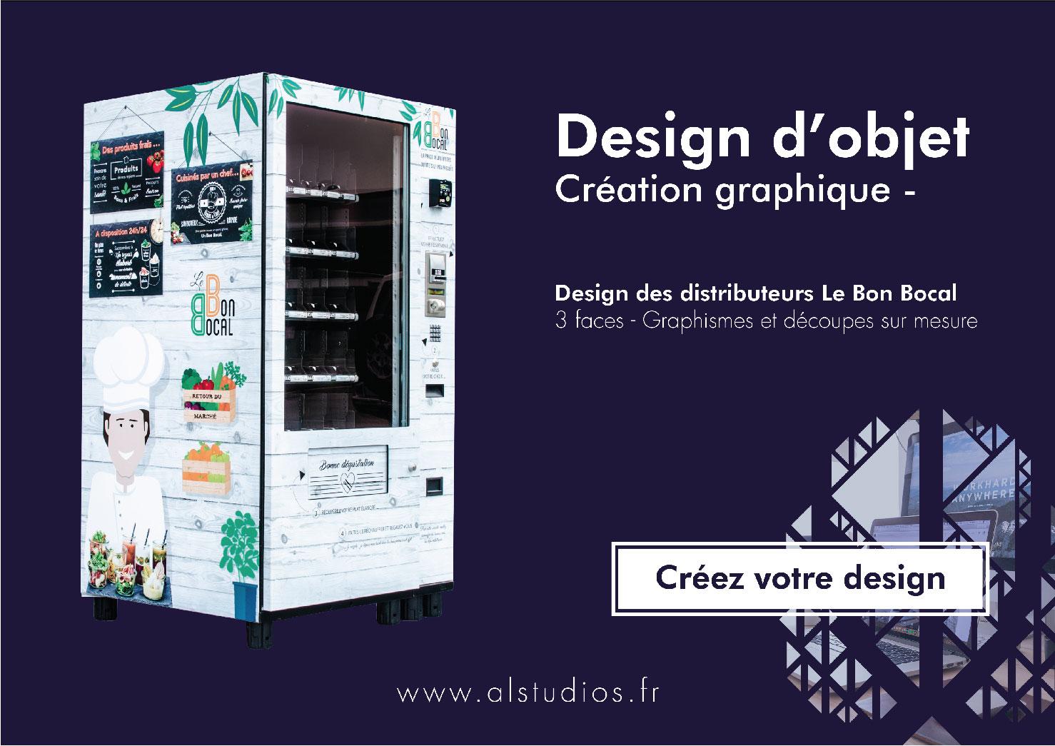 Design de distributeur automatique - Le Bon Bocal
